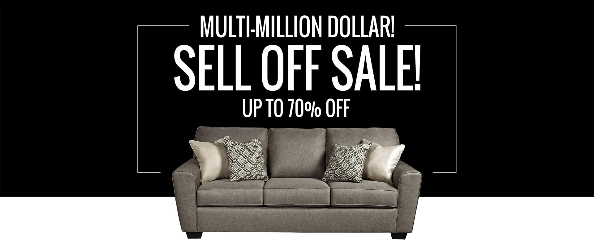 Multi Million Dollar Sell Off Sale!